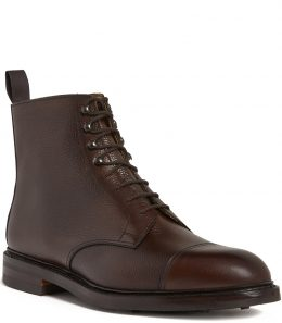 Mens Grain Leather Boots