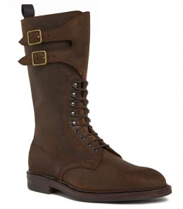 Mens Rough Out Nubuck Twin Strap Boots